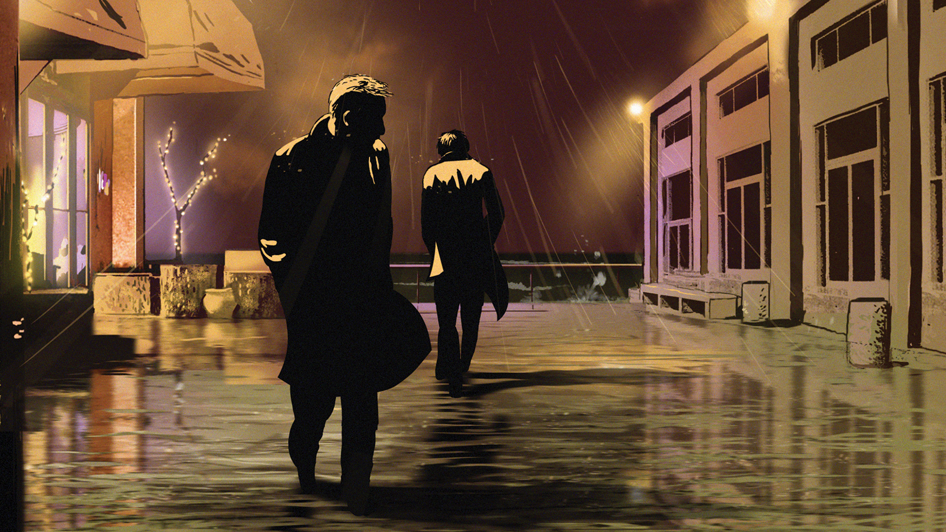 in waltz with bashir a documentary Watch waltz with bashir (2008) free online - much awarded animated documentary, in which director and israeli army veteran ari folman interviews friends and former soldiers about their memories of the 1982 lebanon war and especially the sabra and shatila massacre in beirut.