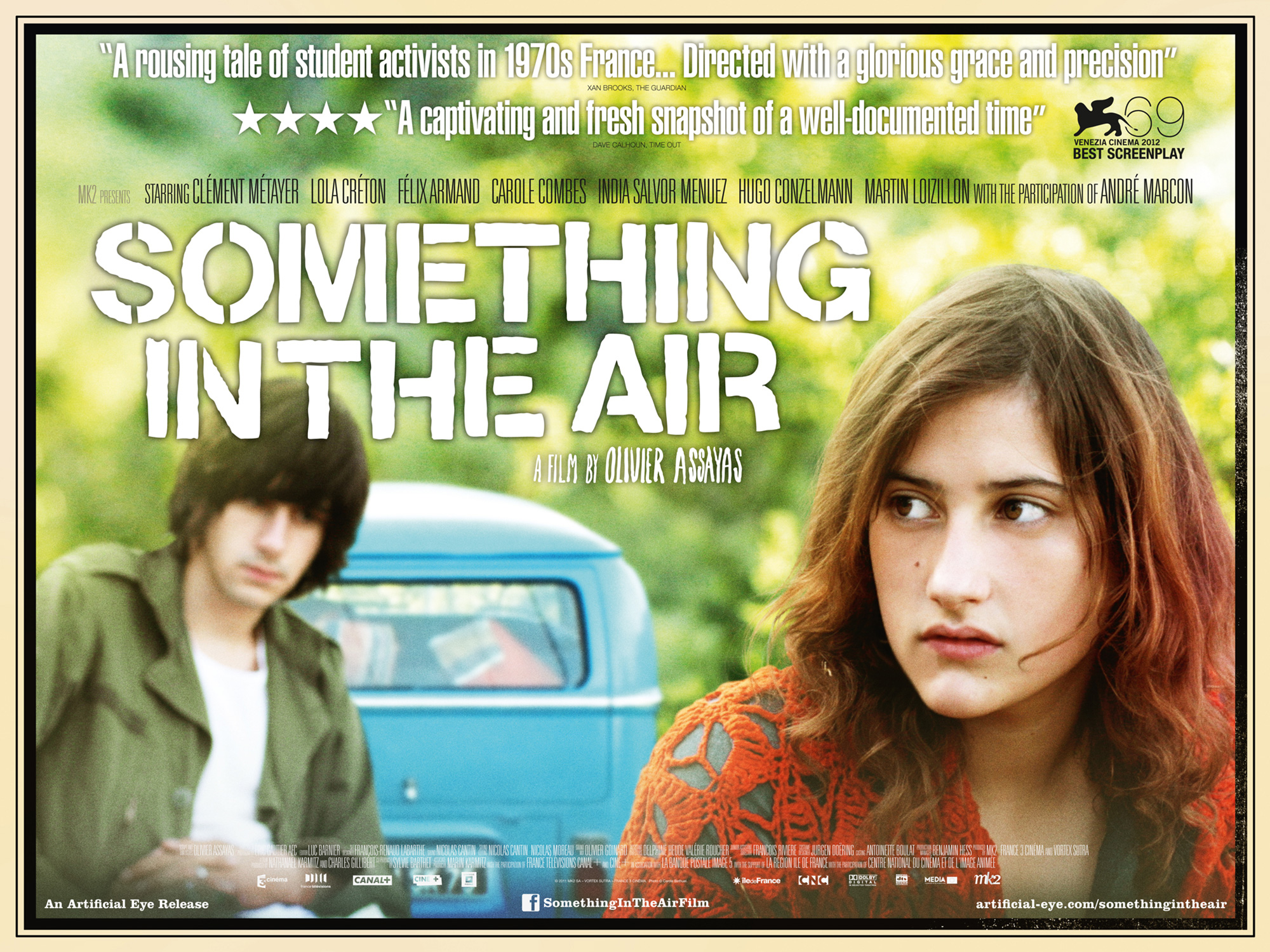 Something in the Air - Curzon Artificial Eye