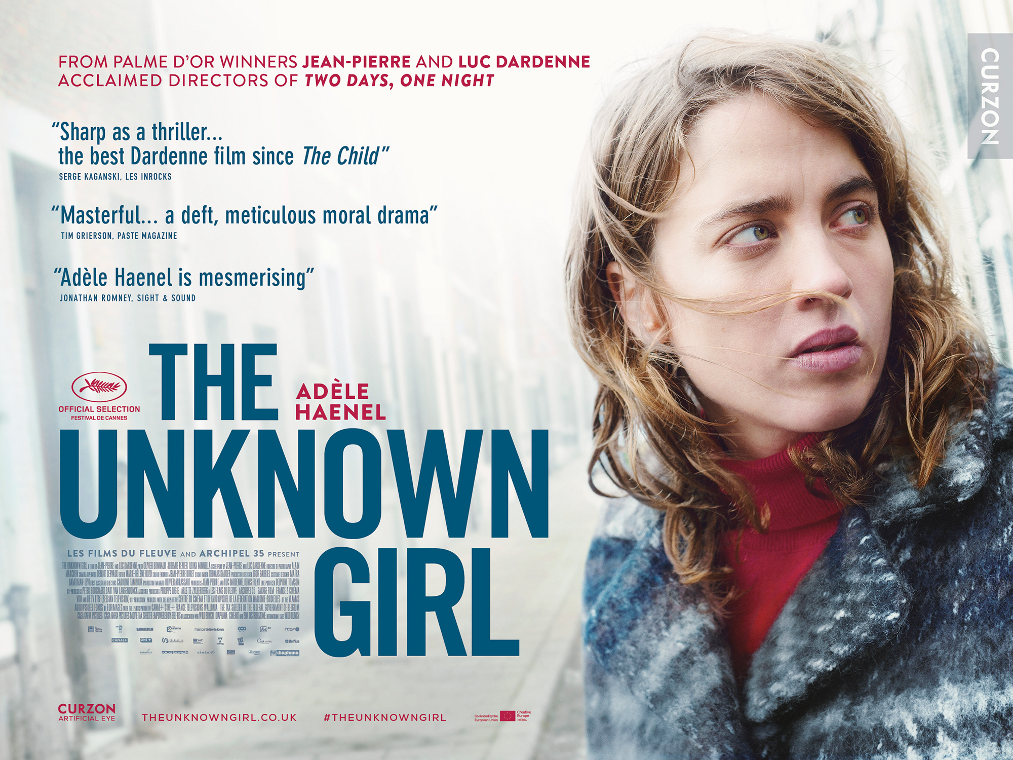 The Unknown Girl - Curzon Artificial Eye
