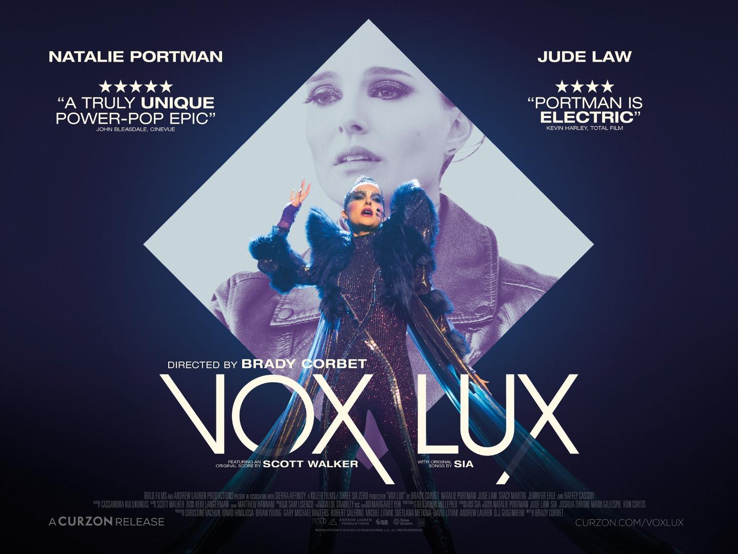 Vox Lux Curzon Artificial Eye